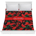 Chili Peppers Comforter (Personalized)