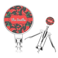 Chili Peppers Corkscrew (Personalized)