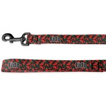Chili Peppers Deluxe Dog Leash (Personalized)
