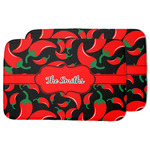Chili Peppers Dish Drying Mat w/ Name or Text