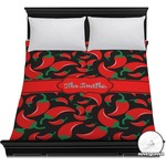 Chili Peppers Duvet Cover (Personalized)