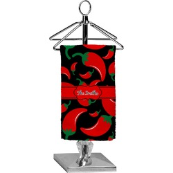 Chili Peppers Finger Tip Towel - Full Print (Personalized)