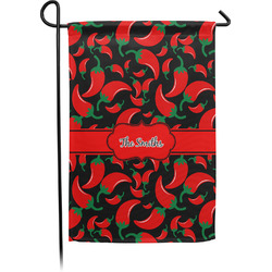Chili Peppers Garden Flag - Single or Double Sided (Personalized)