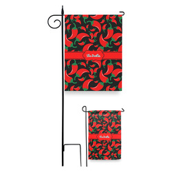 Chili Peppers Garden Flag (Personalized)
