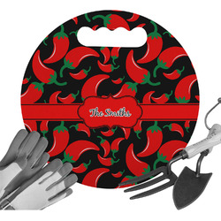 Chili Peppers Gardening Knee Cushion (Personalized)