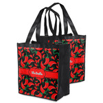 Chili Peppers Grocery Bag (Personalized)
