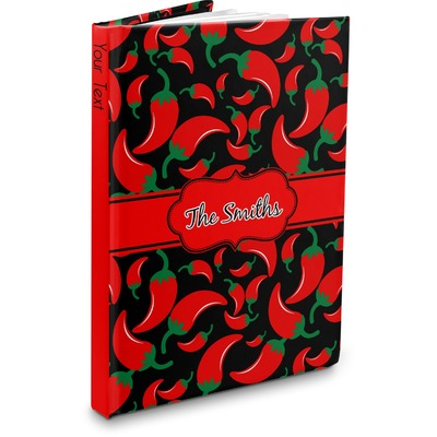 Chili Peppers Hardbound Journal (Personalized)
