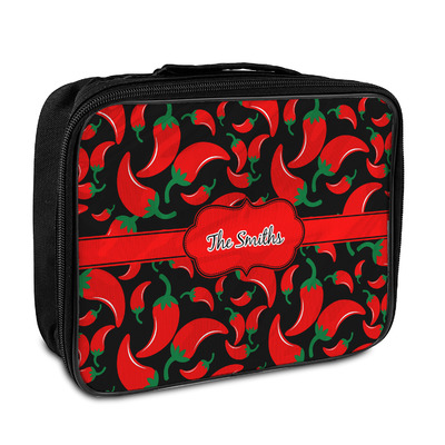 Chili Peppers Insulated Lunch Bag (Personalized)