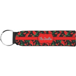 Chili Peppers Keychain Fob (Personalized)