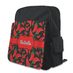 Chili Peppers Preschool Backpack (Personalized)