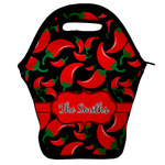 Chili Peppers Lunch Bag w/ Name or Text