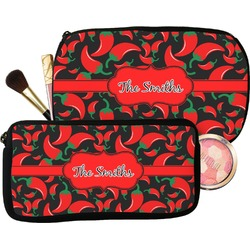 Chili Peppers Makeup / Cosmetic Bag (Personalized)