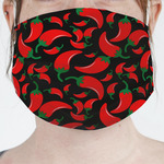 Chili Peppers Face Mask Cover (Personalized)