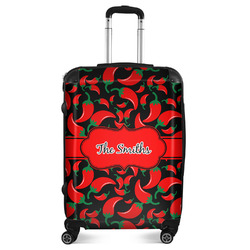 """Chili Peppers Suitcase - 24""""Medium - Checked (Personalized)"""