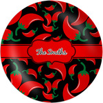 Chili Peppers Melamine Plate - 8
