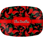 Chili Peppers Melamine Platter (Personalized)