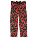 Chili Peppers Mens Pajama Pants (Personalized)