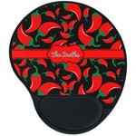Chili Peppers Mouse Pad with Wrist Support