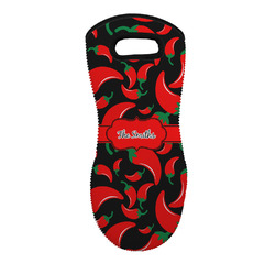 Chili Peppers Neoprene Oven Mitt - Single w/ Name or Text