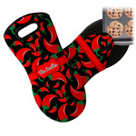 Chili Peppers Neoprene Oven Mitt (Personalized)