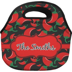 Chili Peppers Lunch Bag (Personalized)