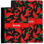 Chili Peppers Notebook Padfolio w/ Name or Text