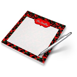 Chili Peppers Notepad (Personalized)