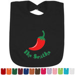 Chili Peppers Bib - Select Color (Personalized)