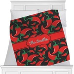 Chili Peppers Minky Blanket (Personalized)