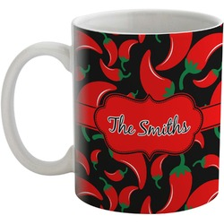 Chili Peppers Coffee Mug (Personalized)
