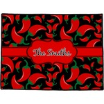 Chili Peppers Door Mat (Personalized)