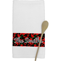 Chili Peppers Kitchen Towel (Personalized)