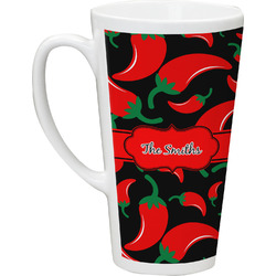 Chili Peppers Latte Mug (Personalized)