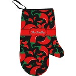 Chili Peppers Oven Mitt (Personalized)