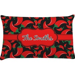Chili Peppers Pillow Case - King (Personalized)