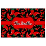 Chili Peppers Placemat (Laminated) (Personalized)