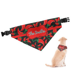 Chili Peppers Dog Bandana - Small (Personalized)