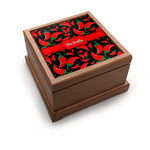 Chili Peppers Pet Urn w/ Name or Text