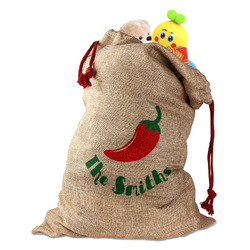 Chili Peppers Santa Sack (Personalized)