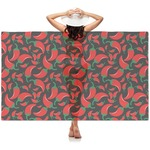 Chili Peppers Sheer Sarong (Personalized)