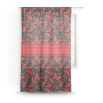 Chili Peppers Sheer Curtains (Personalized)