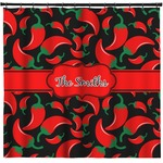 Chili Peppers Shower Curtain (Personalized)