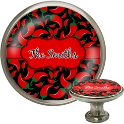 Chili Peppers Cabinet Knobs (Personalized)