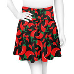 Chili Peppers Skater Skirt (Personalized)