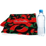 Chili Peppers Sports & Fitness Towel (Personalized)