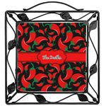 Chili Peppers Trivet (Personalized)