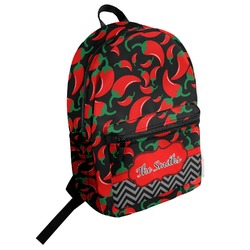 Chili Peppers Student Backpack (Personalized)