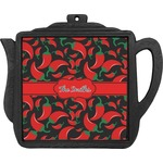 Chili Peppers Teapot Trivet (Personalized)