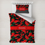 Chili Peppers Toddler Bedding w/ Name or Text