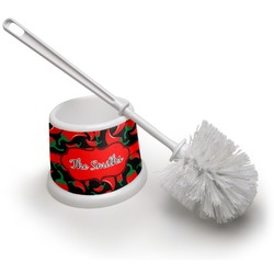 Chili Peppers Toilet Brush (Personalized)